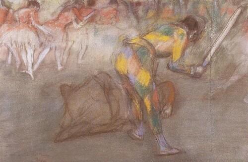 Arlequin de Degas.