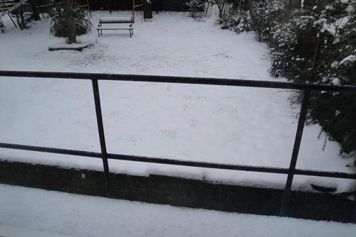 2. Dans la neige...