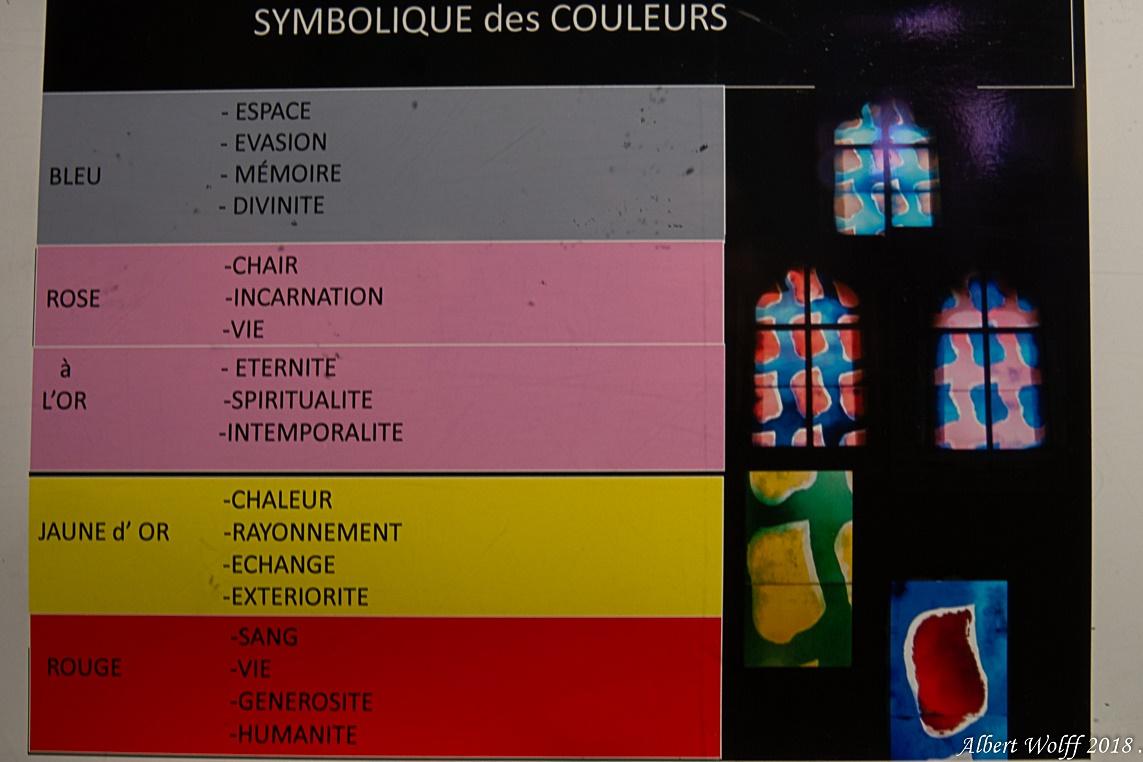 Aigues-Mortes - Le symbolisme des couleurs