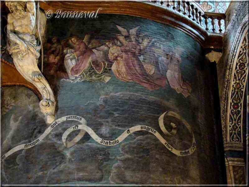 Cathédrale Sainte-Cécile d'Albi Jugement Dernier le Paradis les Anges