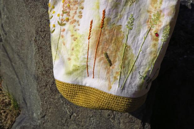 Le sac Prairie brodée