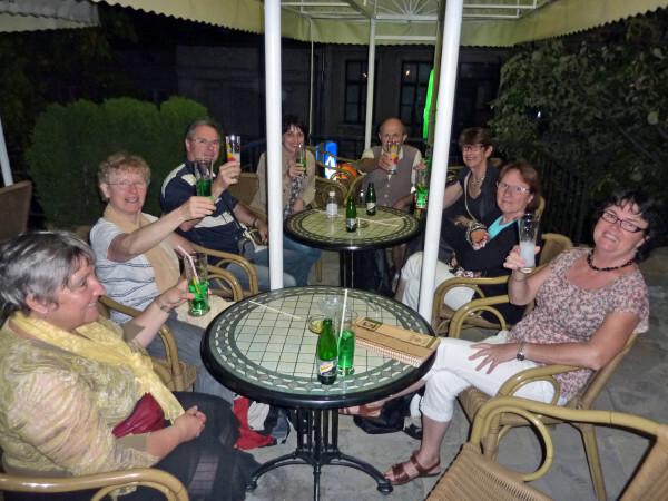 Jour 12 - Veliko Tarnovo - Apéritif en terrasse