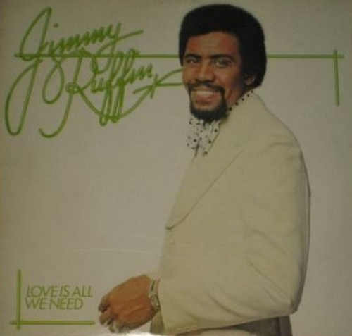 "Jimmy Ruffin ‎: Album "" Love Is All We Need "" Polydor Records 2383 337 [ UK ] en 1975"