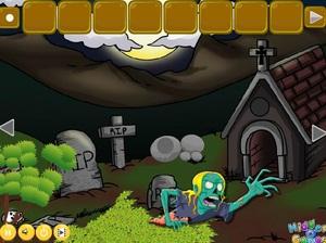 Jouer à Escape little girl from zombie forest