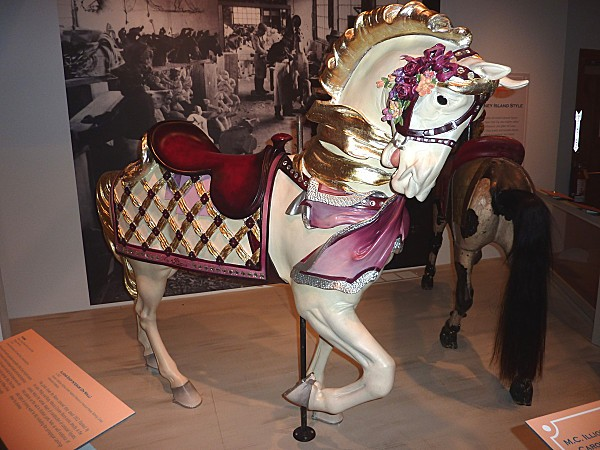Sandwich Heritage Museum cheval Carrousel