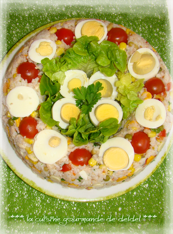 Couronne De Riz La Cuisine Gourmande De Deldel