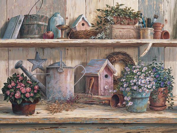 Peinture de : Michael Humphries