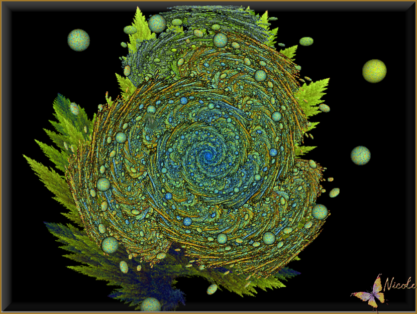 Mes créations fractales