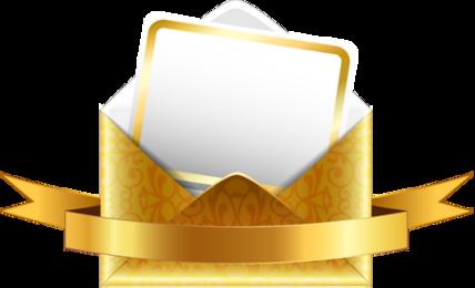 Bons voeux par courrier