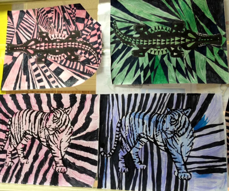 art africain ce1