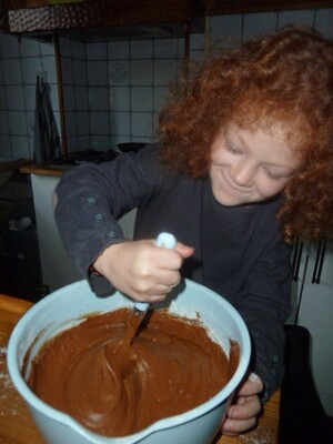 Un gâteau au chocolat au micro-ondes (version Emma)