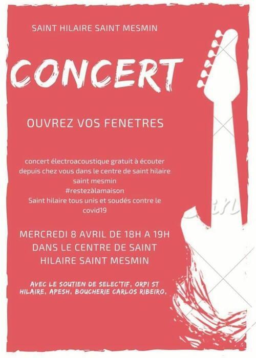 Les bons plans de Saint Hilaire: Mercredi 8 avril