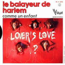 LOVER'S LOVE 45T Le-Balayeur-de-Harlem