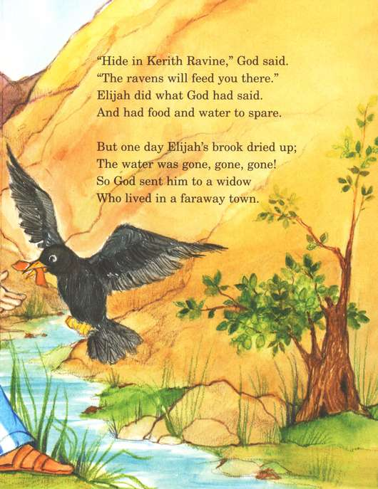 Arch Books Bible Stories: Elijah Helps the Widow