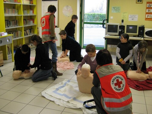 La Croix Rouge à l'école...