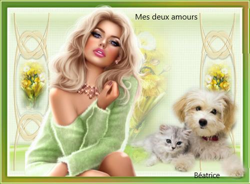 """Défi Kalyona """"mes deux amours"""""""