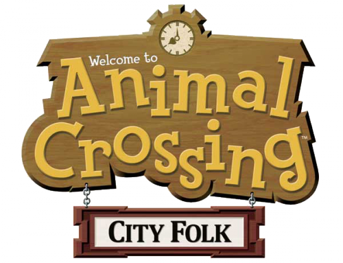 Logo Animal crossing WII city folk