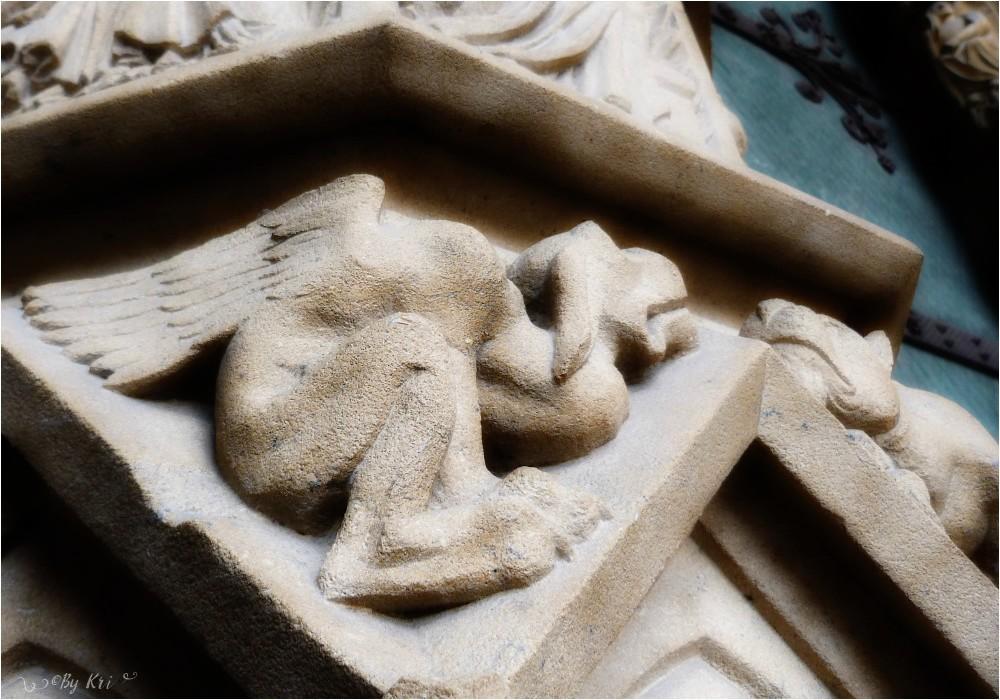 Metz (Fr-57) ~ Les Gardiens de la Cathédrale Saint Etienne ...