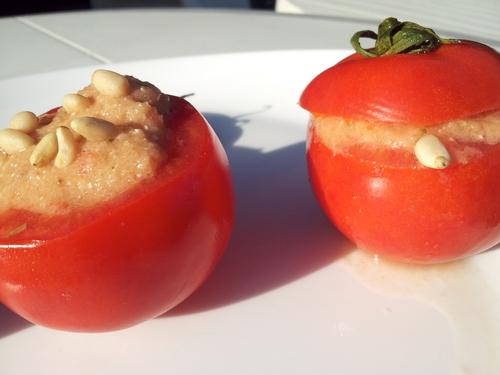 ° Gaspacho de tomates et concombre