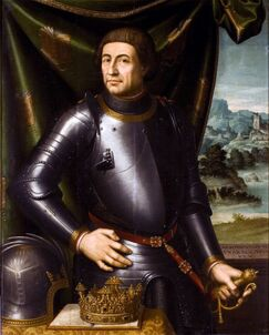 Portrait d'Alphonse V par Vicente Juan Masip, musée de Saragosse.