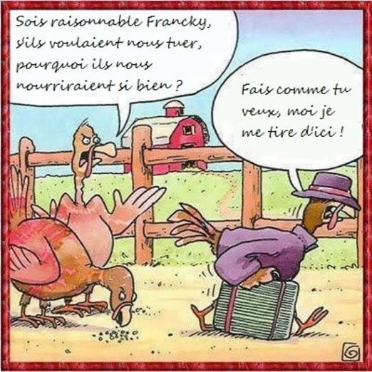 sois raisonnable francky