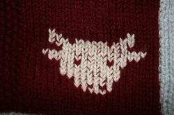 Tricoter un dessus de lit.