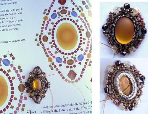 Aux couleurs de l'automne : le tissage de perles à l'aiguille