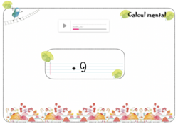 math interactives : calcul mental +9