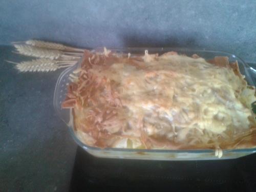 Lasagnes aux courgettes et à la sauce pesto