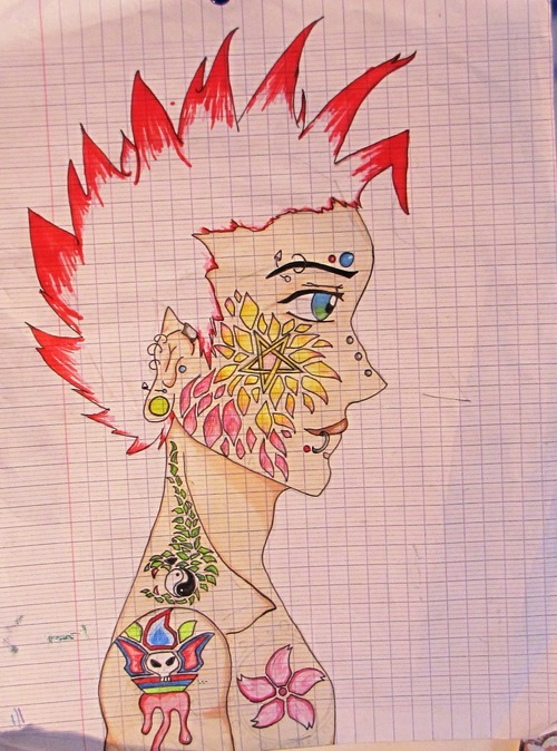 Punk tatoué ^^