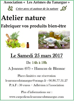 Ateliers Printemps 2017