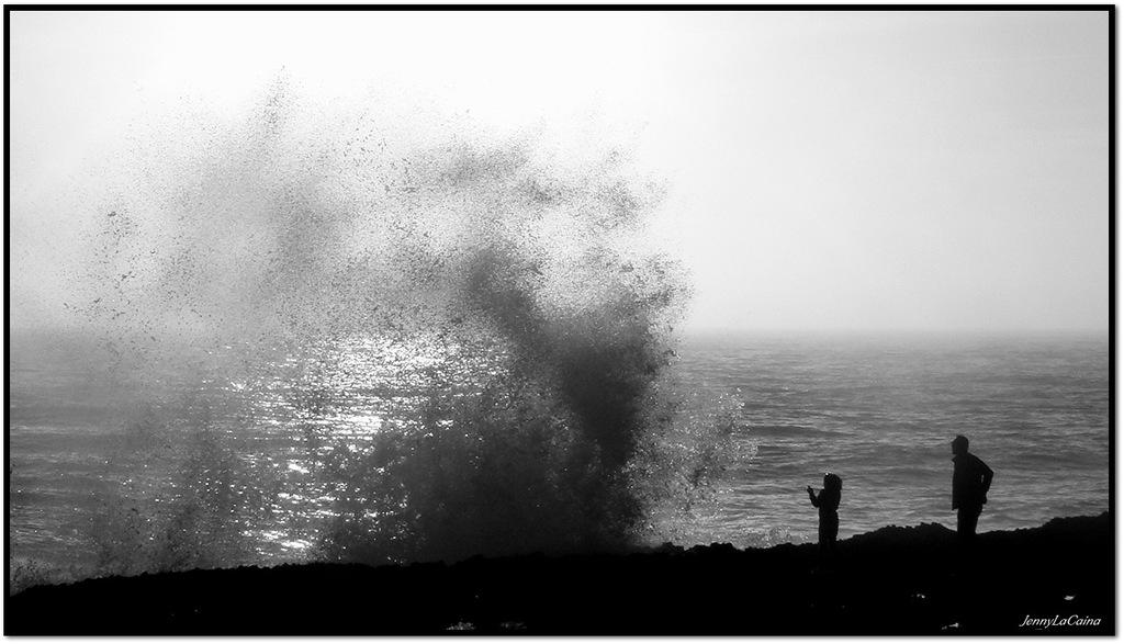 Douche sur la côte...