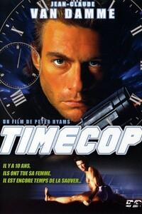 Timecop : En l'an 2004, l'homme sait enfin voyager dans le temps, générant une nouvelle race de criminels spéculateurs. Les Etats-Unis ont donc crée la T.E.C, une unité d'élite chargée de contrôler tout déplacement temporel. Mais ses propres agents ne sont pas à l'abri des tentations et l'agent Max Walker reçoit pour mission de ramener un déserteur...-----... Origine : Américain, Japonais, Canadien Réalisation : Peter Hyams Durée : 1h 40min Acteur(s) : Jean-Claude Van Damme, Mia Sara, Ron Silver Genre : Science fiction, Action Date de sortie : 30 novembre 1994 Année de production : 1994 Distributeur : United International Pictures (UIP) Critiques Spectateurs : 1,9