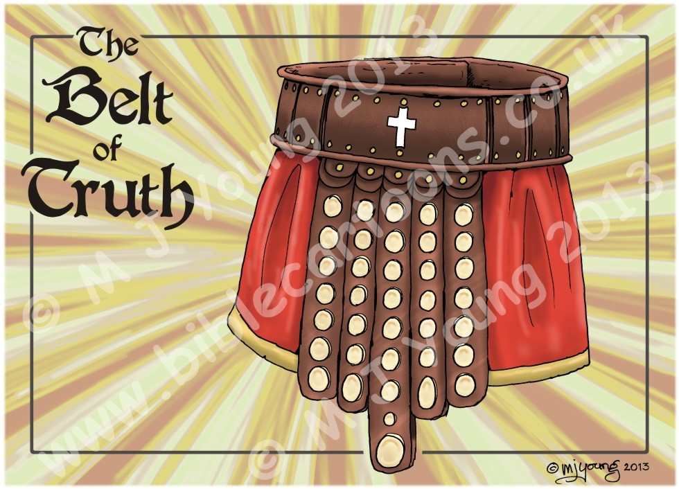 Ephesians 06 - Armour of God  - Belt (Yellow)