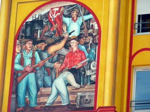 Lyon : hommage à l'oeuvre de Diego Rivera