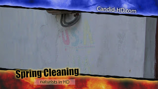 Candid-HD - Spring Cleaning.