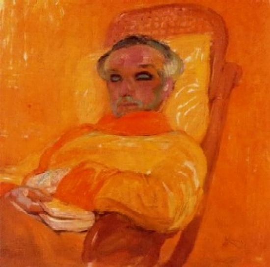 Frantisek Kupka, La gamme jaune, 1907