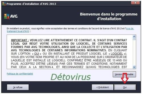 Avg Antivirus Pro 2013 - Licence 1 an gratuit