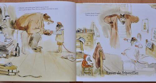Les Noëls d'Ernest et Célestine de Gabrielle Vincent éd. Les albums Casterman