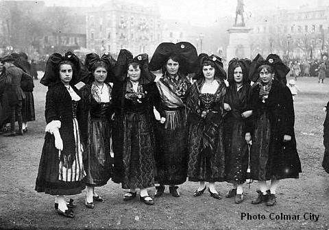 Alsaciennes en 1918