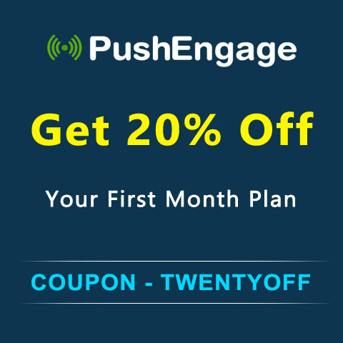 PUSHENGAGE Leader in Web Push Notifications.Live with 10,000+ sites and 150+ countries