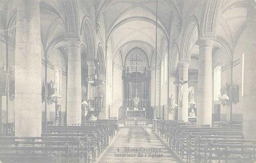 Mons-Crotteux - Intérieur de l'Église