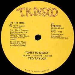 Ted Taylor - Ghetto Disco