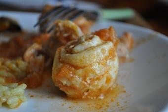 Limande roulée au saumon fondante à la tomate
