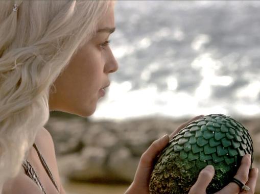 Comment faire les oeufs de dragon de Daenerys