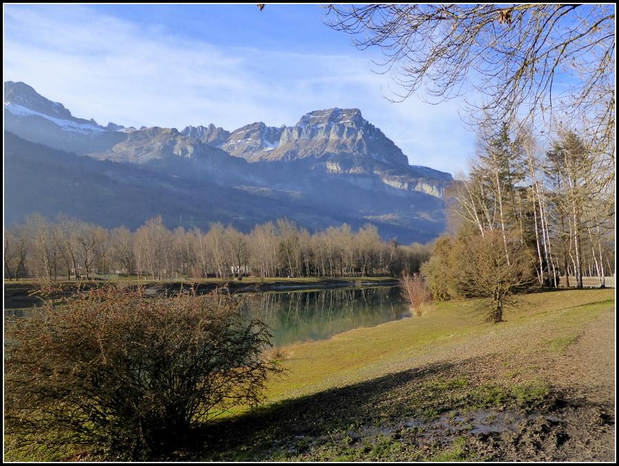 Les lacs des Ilettes à Sallanches...à la veille de l'hiver !!