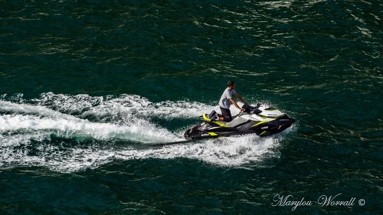 Corse : Bonifacio, la Marina vue de la Citadelle