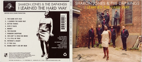 "2010 : CD "" I Learned The Hard Way "" Daptone Records DAP-019 [ US ]"