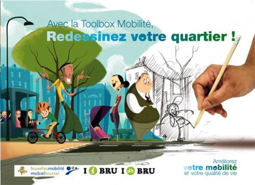 Avis aux comités de quartiers de Woluwe(é) : Connaissez-vous la Toolbox Mobilité ?