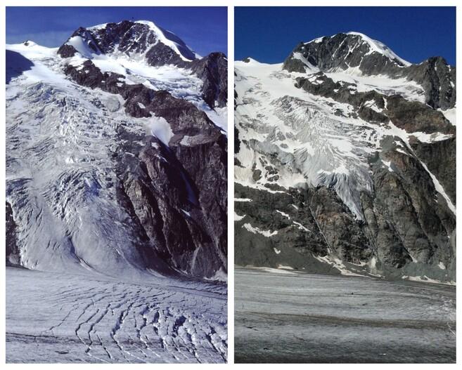 Débacle des glaciers